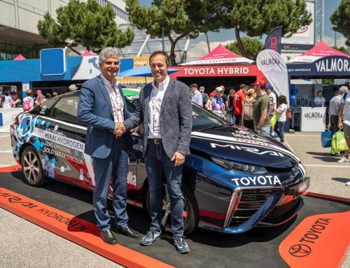 Toyota ed Eni uniscono le forze per promuovere la mobilità dell'idrogeno in Italia