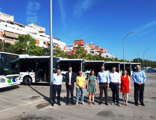 La società di autolinee di Palma di Maiorca presenta la nuova flotta Iveco eco-compatibile