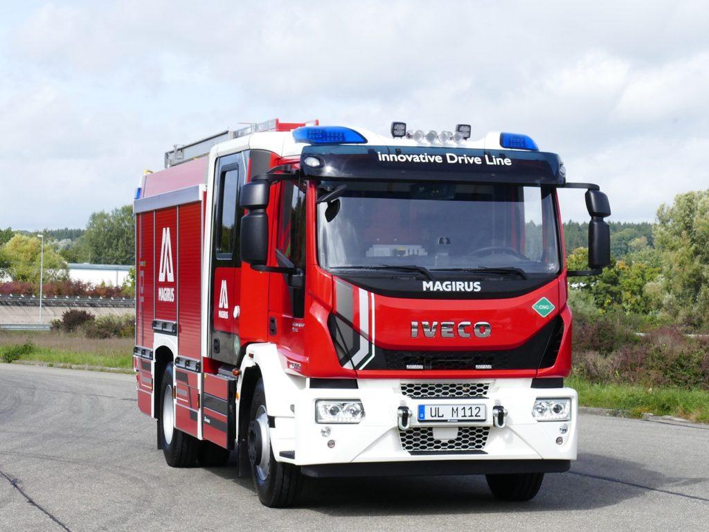 Magirus lancia il primo camion antincendio al mondo alimentato a gas naturale