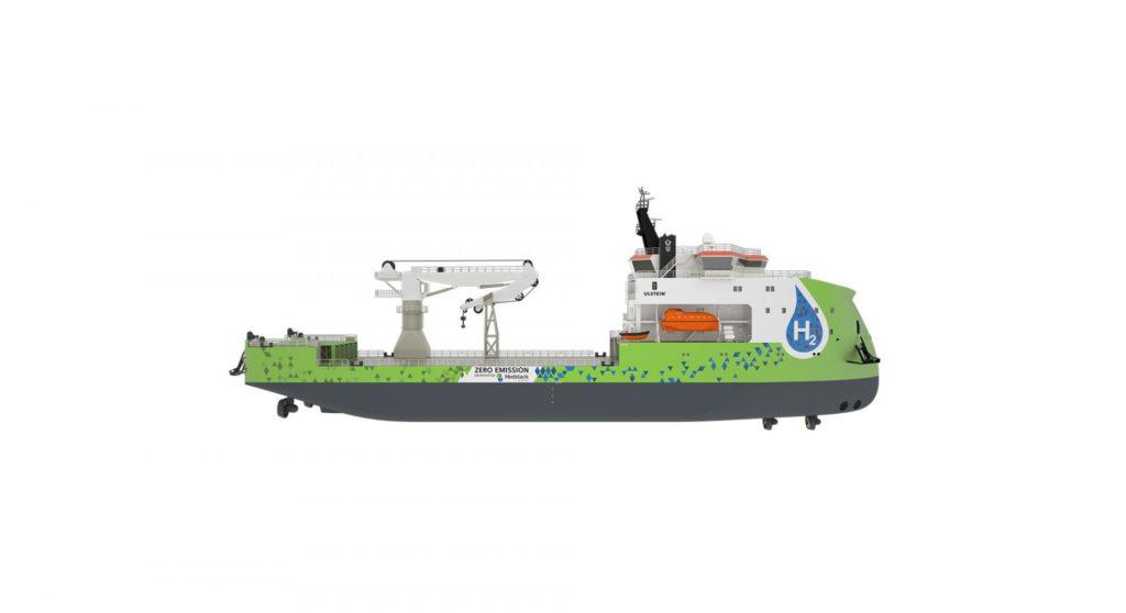 La prima progettazione navale a idrogeno è ora pronta per il mercato