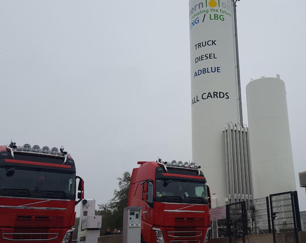 Realizzata la più grande stazione di rifornimento di GNL d'Europa in Germania