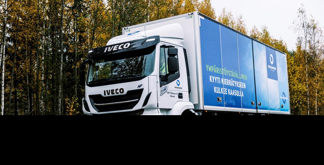I veicoli NGV stanno diventando sempre più popolari tra le aziende di logistica finlandesi