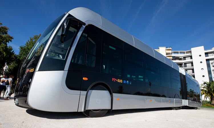 Lancio del primo sistema BRT al 100% di idrogeno al mondo nel sud della Francia