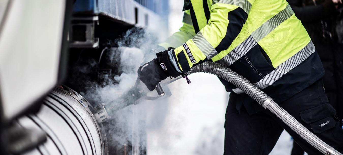 La stazione GNL apre a Kristianstad, presto il biogas sarà prodotto localmente