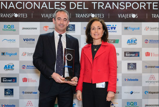 IVECO S-WAY NP si aggiudica l'Eco-friendly Industrial Vehicle award