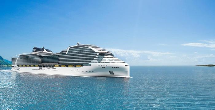 MSC Cruises diventa più verde: in arrivo la terza e la quarta nave a GNL