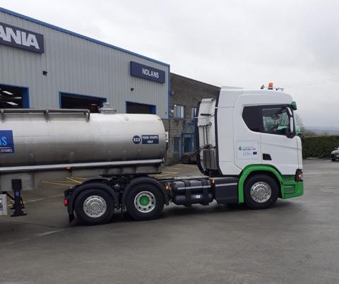 In Irlanda presentati i nuovi veicoli Scania alimentati a gas naturale