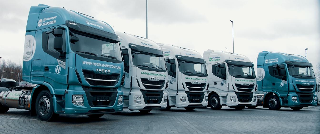 Mobilità sostenibile: l'azienda logistica tedesca amplia la propria flotta di veicoli a GNL