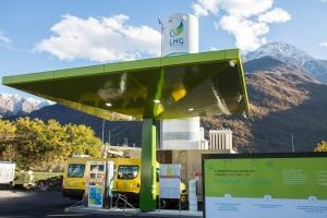 Il distributore LNG di Gera Lario del Gruppo Maganetti