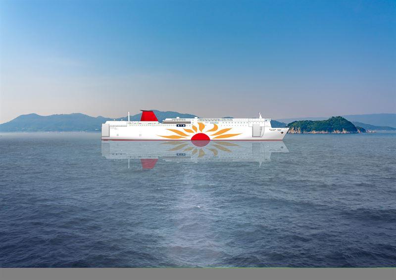 I primi traghetti giapponesi a GNL saranno dotati della soluzione Wärtsilä
